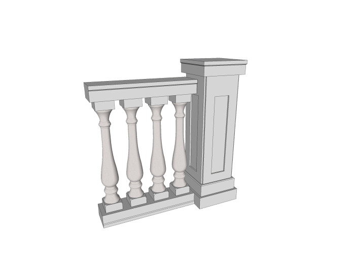 ENSEMBLE BALUSTRE